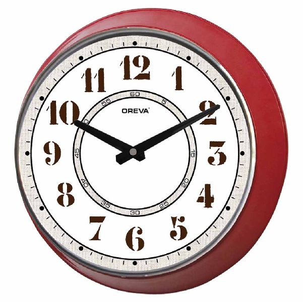 AQ 9037 Metal Analog Clock