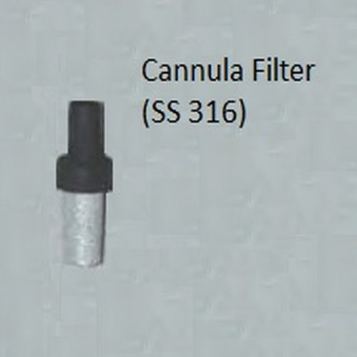 Stainless Steel Cannula Filter