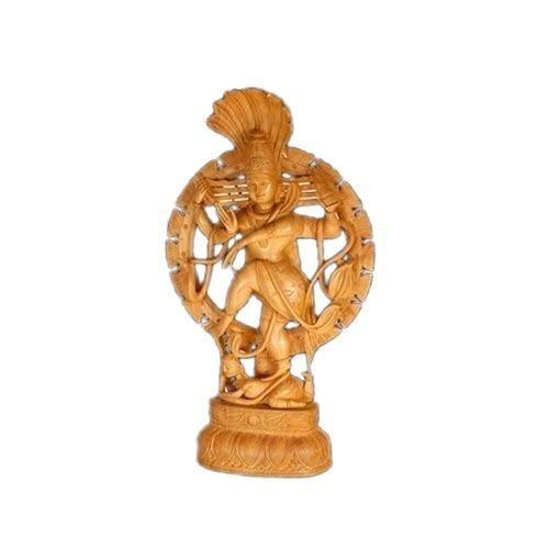 Wooden Nataraja Statue
