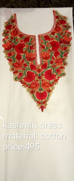 Kashmiri Dress Neck Work