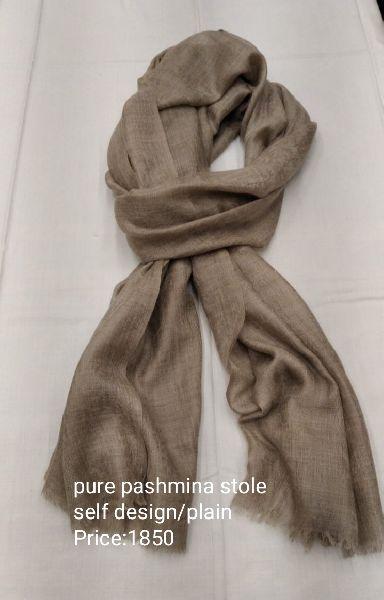 Plain Pashmina Stole