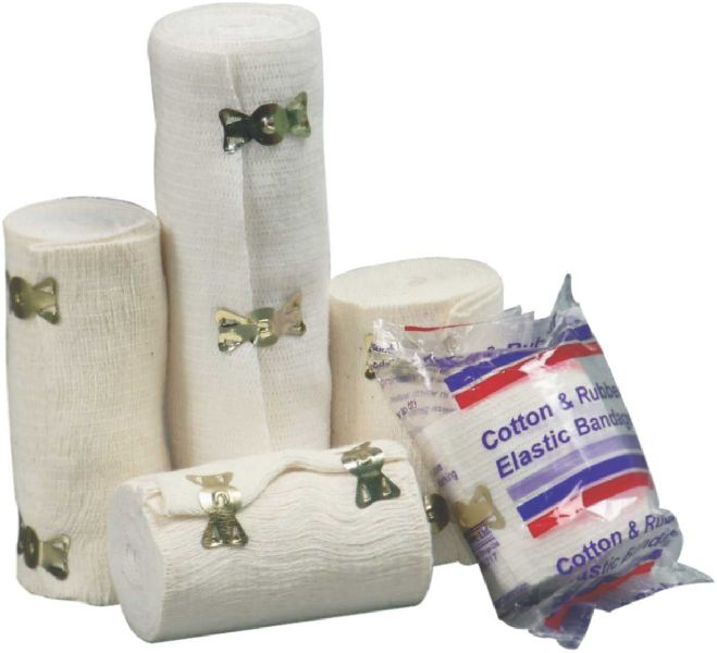 Cotton & Rubber Elastic Bandage