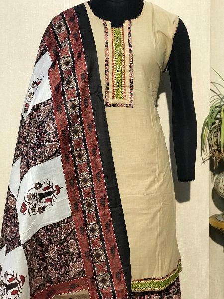 Ladies Brown Salwar Suit (D. No. 2418)
