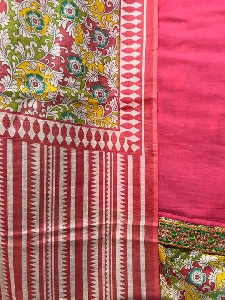 Ladies Pink Salwar Suit (D. No. 2418)