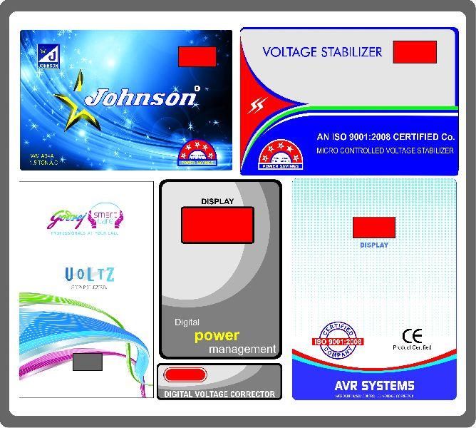 Stabilizer Sticker  Printing