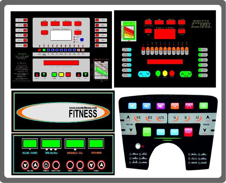 Treadmill Stickers Printing