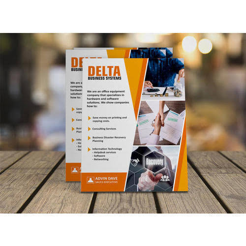 Flyers Designing and Printing Services