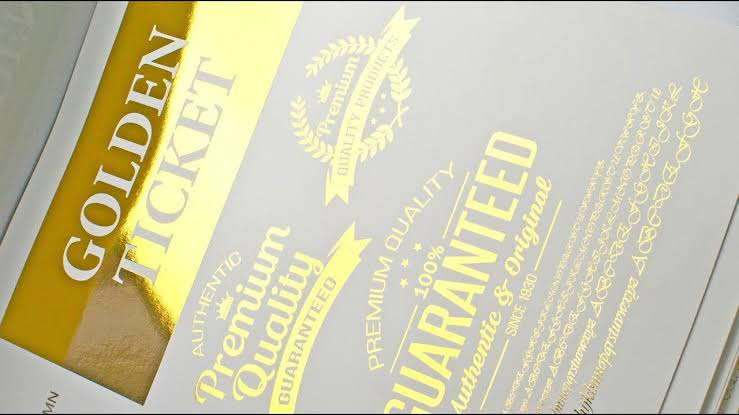 Gold Foil Printing Services