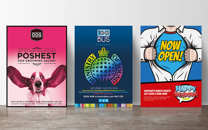 Poster Designing and Printing Services
