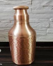Copper Champagne Bottle
