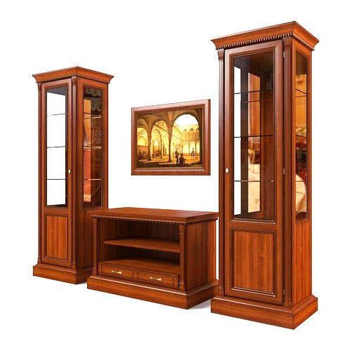 Wooden Cabinet Designing Work