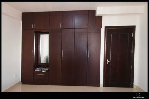 Wooden Wardrobe Designing Work