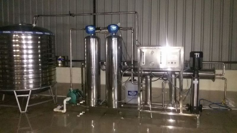 1000 To 10000 LPH Industrial RO Plant