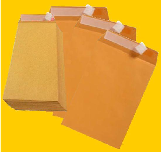 UPM Brown Peel and Seal Envelope