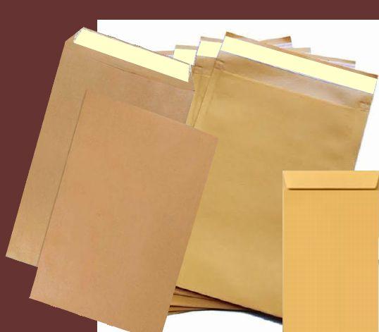 Brown Peel and Seal Envelope