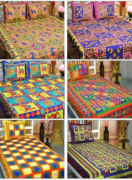 Cotton Handmade Bed Sheet