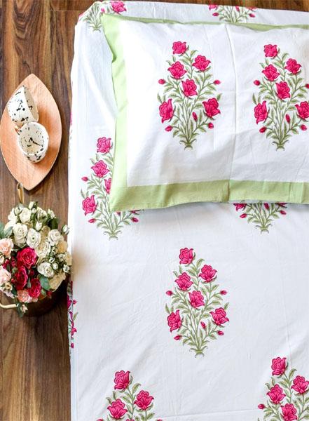 Printed Handmade Bed Sheet