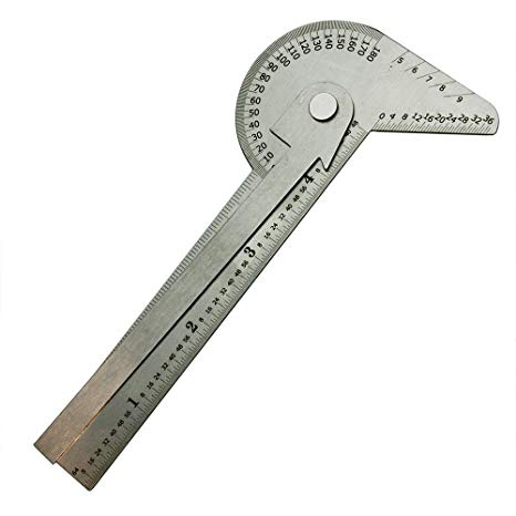 Center Finder cum Protractor Ruler