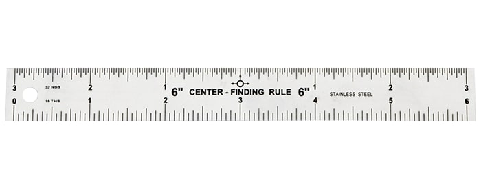 Centre Finding Ruler