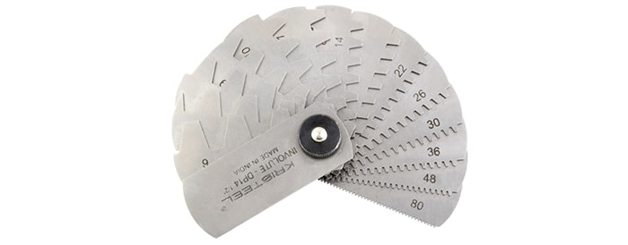 Gear Tooth Pitch Gauge