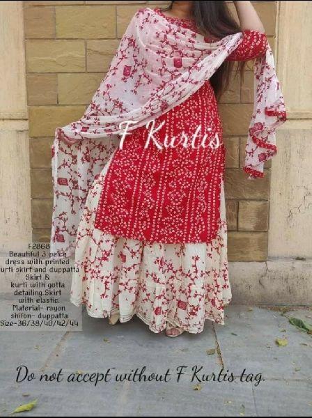Bandhani Kurta Set