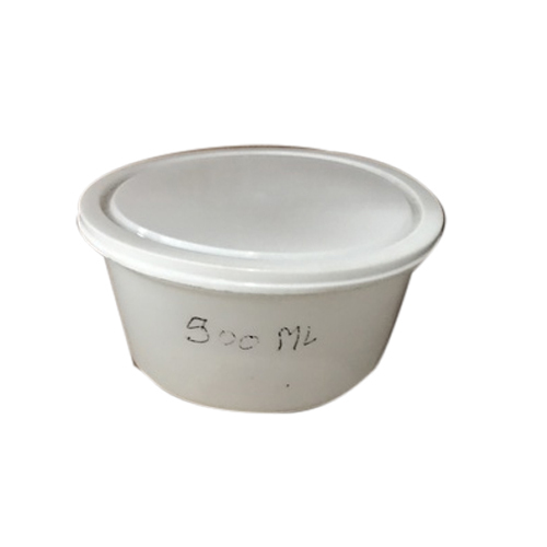 500 ml Disposable Plastic Container