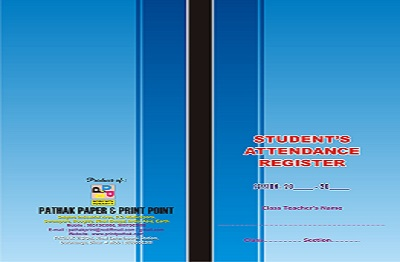 60 Student Attendance Register Printing Services