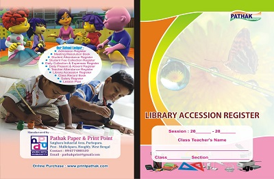 Library Accession Register Printing Services