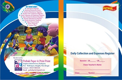 School Collection & Expense Register Printing Services