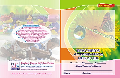 Teachers Attendance Register Printing Services