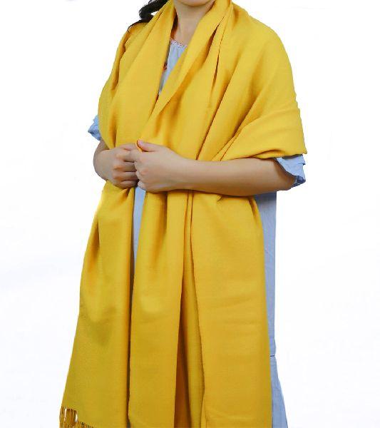 Mustard Lambswool Shawl