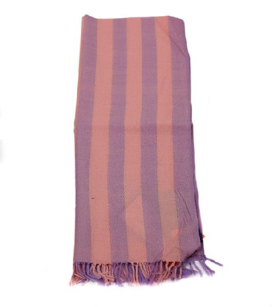 Pink and Lilac Lambswool Scarves