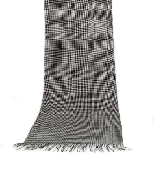 Black & White Lambswool Scarves