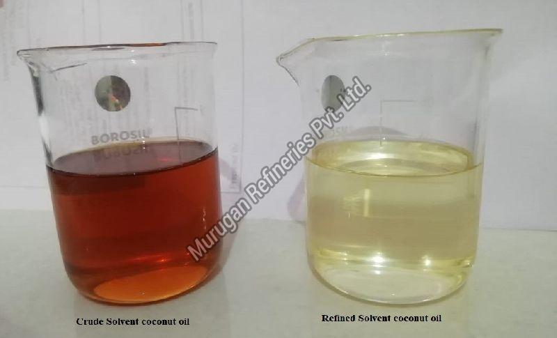 Refined Solvent Coconut Oil