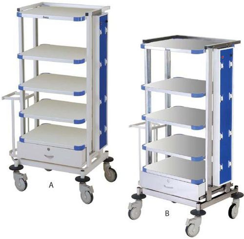 Hospital Monitor Trolley