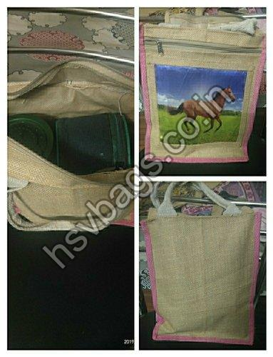 Jute Lunch Box Bag