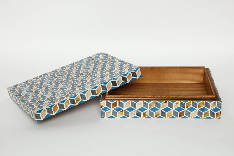 Wooden and Enamel Boxes