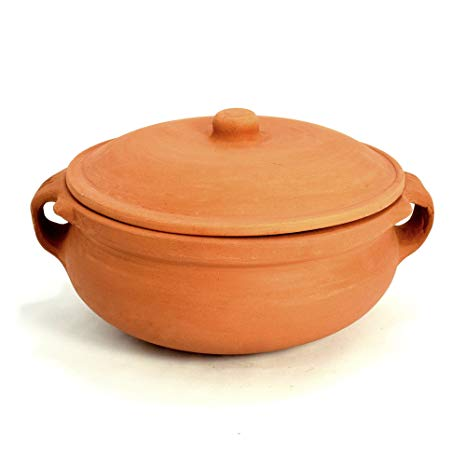 1600gm Clay Cooking Pot