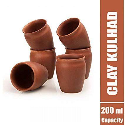 200ml Clay Kulhad