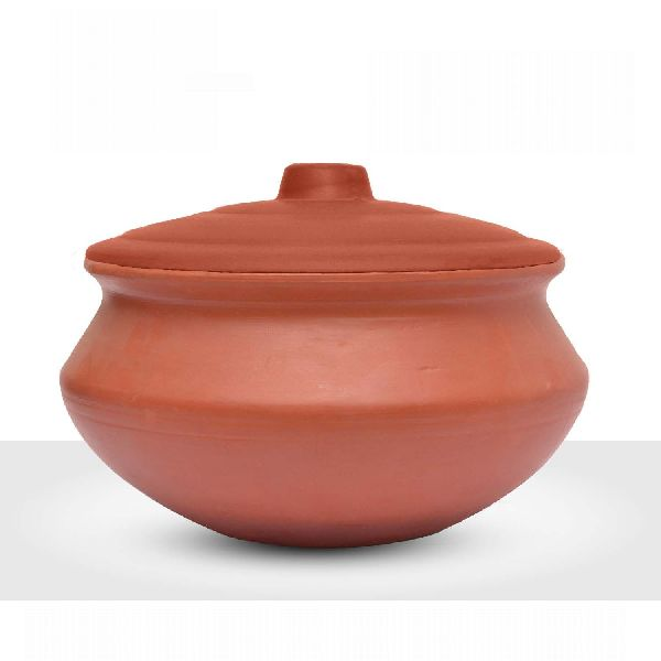 2200gm Clay Biryani Pot