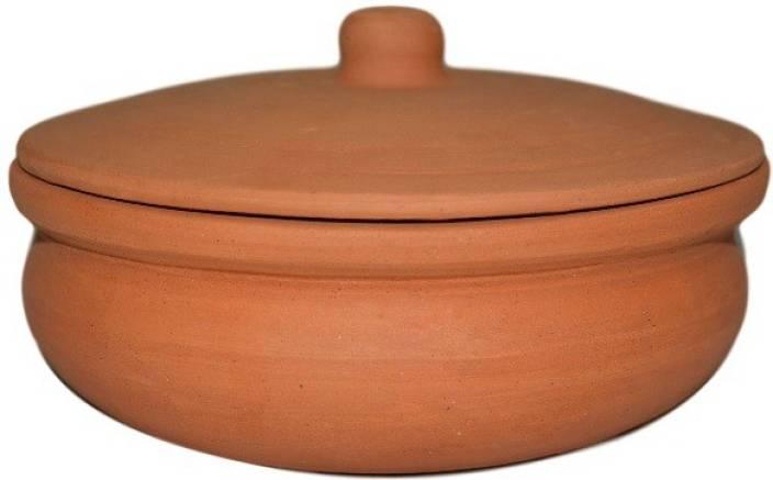 400gm Clay Biryani Pot