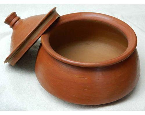 750gm Clay Biryani Pot