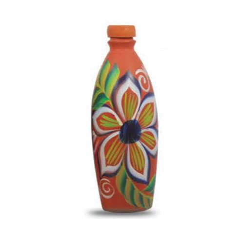 Clay Printed Water Bottle