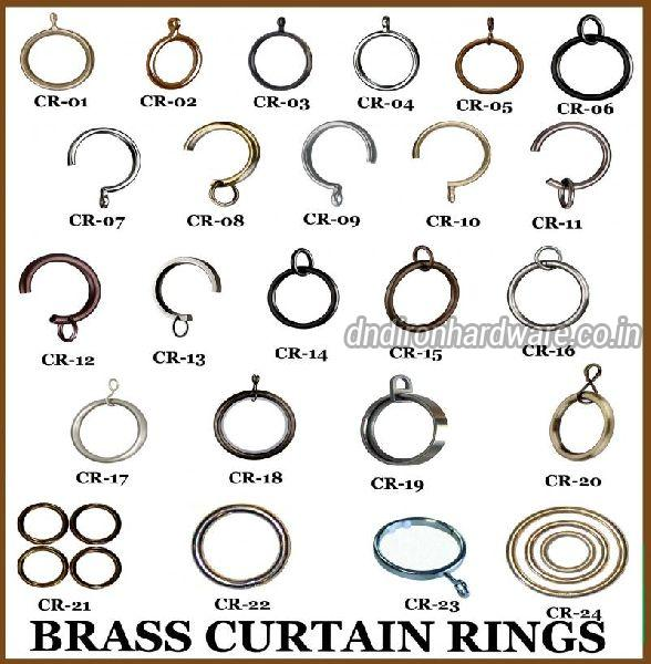 Brass Curtain Rings