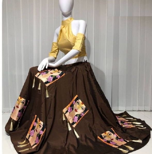 Ladies Skirt With Crop Top