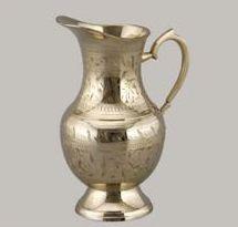 Ashoka Brass Jug