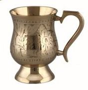 Beer Brass Mug