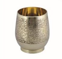 Berrol Brass Glass