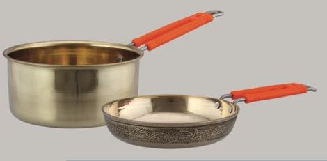 Brass Saus Pan & Frypan