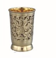 Dana Gold Brass Glass